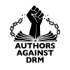 Authors against DRM logo